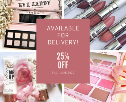 Back to Beauty Sale - 25% off everything